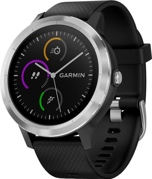 Vivoactive 3 - nero/argento Smartwatch Garmin 798415600000 N. figura 1