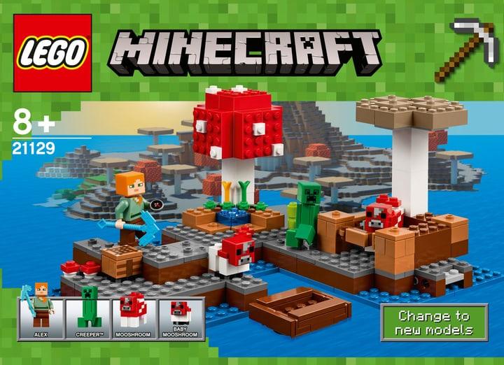 LEGO Minecraft L'isola dei funghi 21129 748839300000