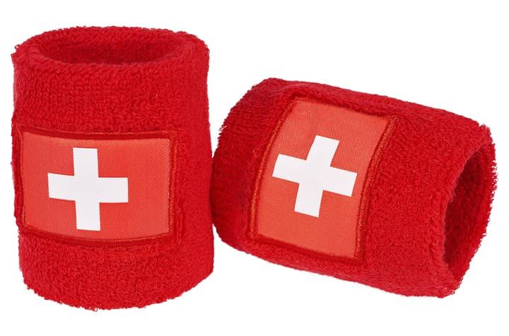 Schweiz /Suisse / Svizzrea Serre-poignets aux couleurs du Suisse. Extend 461938199930 Couleur rouge Taille one size Photo no. 1