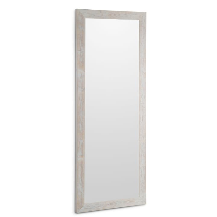 DEAL Miroir 362006446703 Couleur Blanc Dimensions L: 92.0 cm x P: 3.0 cm x H: 193.0 cm Photo no. 1