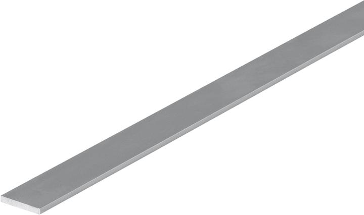 Barre plate 2 x 15 mm alu argent 1 m alfer 605016100000 Photo no. 1