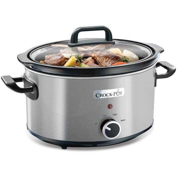 Slow cooker Schongarer 3.5l silber Dampfgarer Crock-Pot 717459000000 Bild Nr. 1