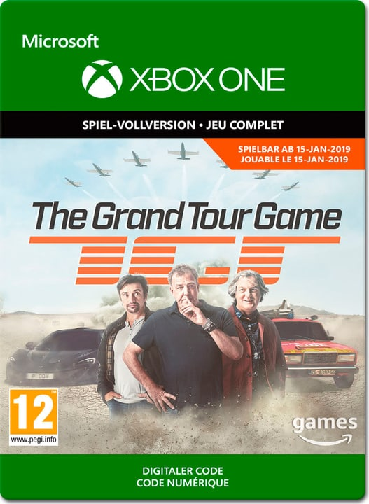 Xbox One - The Grand Tour Game - PrePurchase Download (ESD) 785300141438 N. figura 1