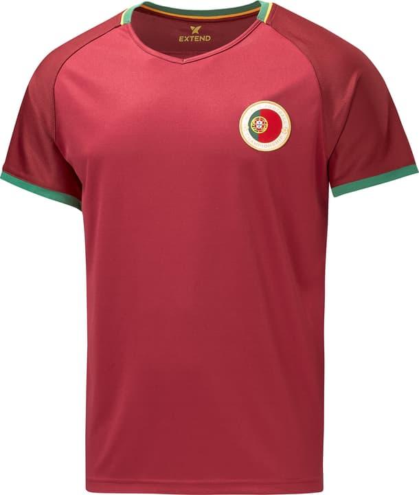 Portugal Fussball-Fan-Shirt Extend 498283800688 Farbe bordeaux Grösse XL Bild-Nr. 1