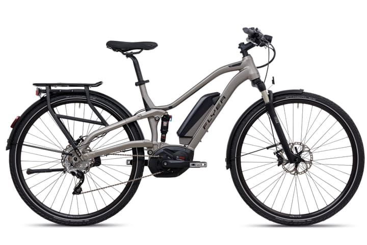 """TX 7.10 28"""" vélo electrique FLYER 463303604587 Couleur argent Tailles du cadre 45 Photo no. 1"""