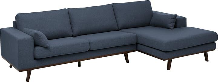 MORITZ Canapé d'angle 405741850040 Couleur Bleu Dimensions L: 282.0 cm x P: 154.0 cm x H: 81.0 cm Photo no. 1