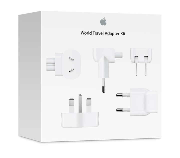 World Travel Adapter Kit for all iPod/iPhone/iPad Apple 797874800000 Photo no. 1