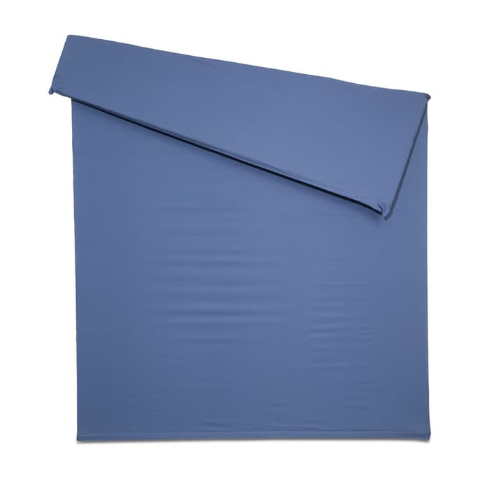 KOS Housse couette Satin 376009164804 Couleur Bleu outremer Dimensions L: 210.0 cm x L: 160.0 cm Photo no. 1