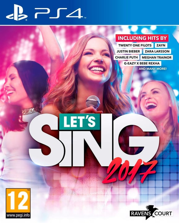 PS4 - Let's Sing 2017 (incl. 2 Microphones) 785300121397