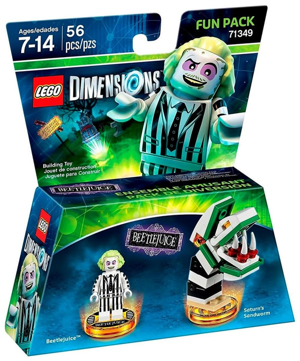 LEGO Dimensions Fun Pack - Beetlejuice Box 785300128202 Bild Nr. 1