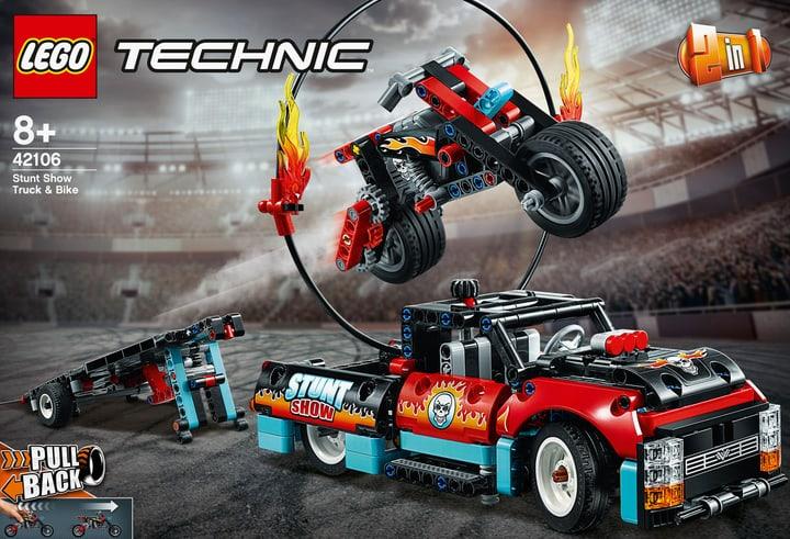 LEGO 42106 Truck e moto dell 748730800000 N. figura 1