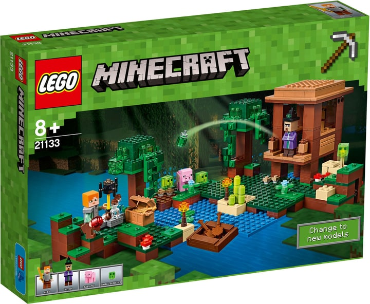 Lego Minecraft La cabane de la sorcière 21133 748859100000 Photo no. 1