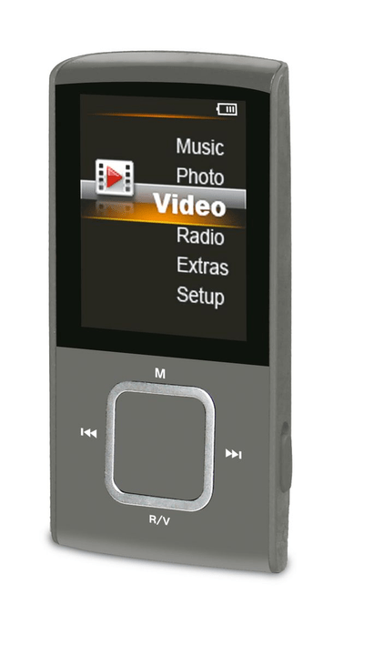 A8 - Grau MP3 Player Durabase 773557600000 Bild Nr. 1