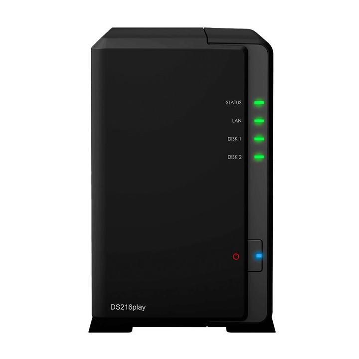 NAS DS216play Diskstation mit 2x 1TB Samsung SSD Synology 79798800000016 Bild Nr. 1