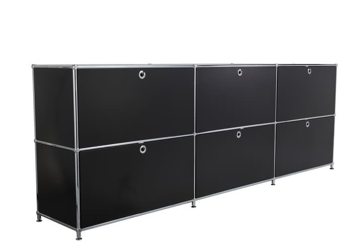 FLEXCUBE Buffet 401809700020 Dimensions L: 227.0 cm x P: 40.0 cm x H: 80.5 cm Couleur Noir Photo no. 1