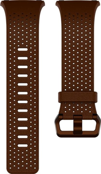 Ionic cuir perforé Cognac Bracelet Fitbit 785300131153 Photo no. 1