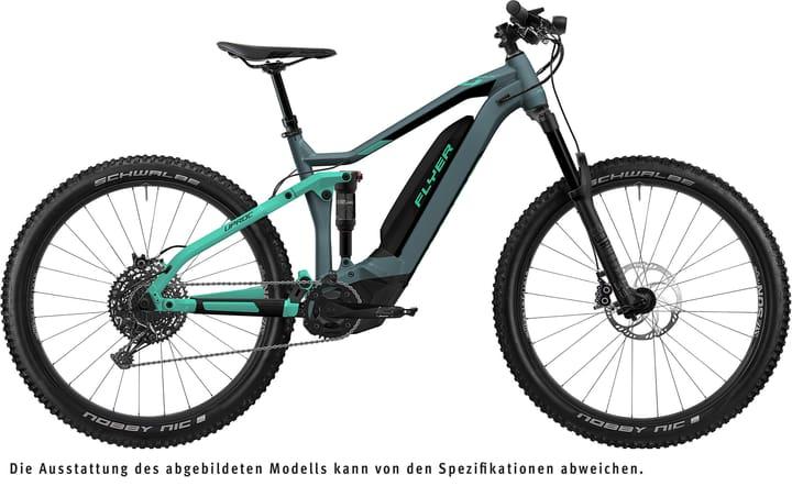 """Uproc4 6.50 27.5"""" E-Mountainbike FLYER 463368600485 Couleur menthe Tailles du cadre M Photo no. 1"""