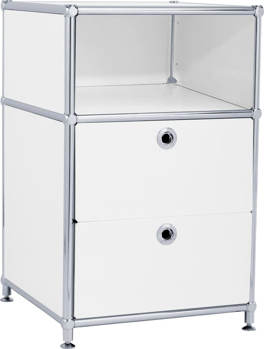 FLEXCUBE Caisson 401816400010 Dimensions L: 40.0 cm x P: 40.0 cm x H: 62.5 cm Couleur Blanc Photo no. 1