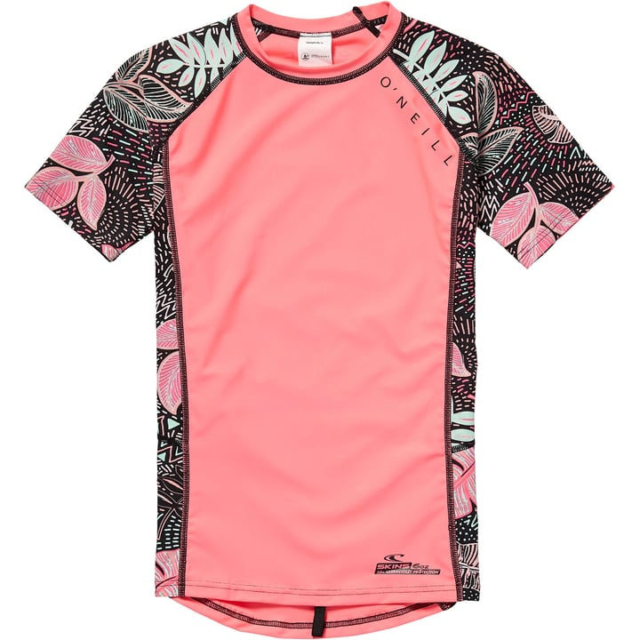 PG ZUMA BEACH S/SLV SKIN T-shirt de bain U.V.P. pour fille O'Neill 464547116429 Couleur magenta Taille 164 Photo no. 1