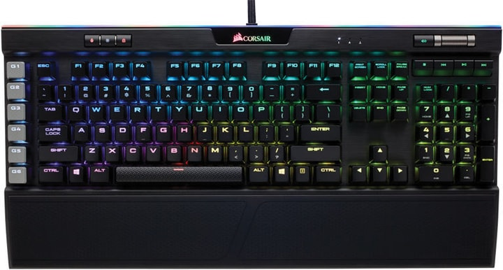 Gaming Keyboard K95 RGB Platinum Cherry MX Speed, CH-Layout Corsair 785300129251 Photo no. 1
