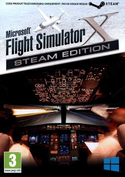 PC - Flight Simulator X - Steam Edition Fisico (Box) 785300121716 N. figura 1