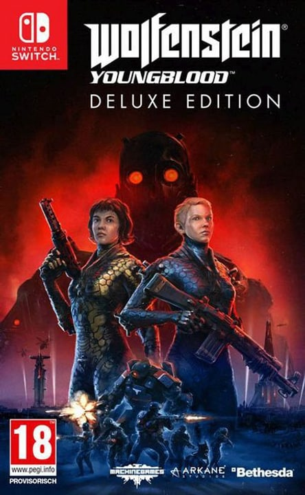 NSW - Wolfenstein: Youngblood Deluxe Edition D Box 785300145207 Bild Nr. 1