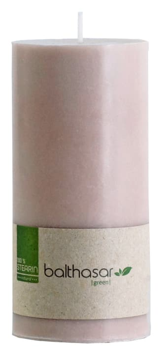 GREEN Bougie cylindrique 440664301588 Couleur Taupe Dimensions H: 15.0 cm Photo no. 1