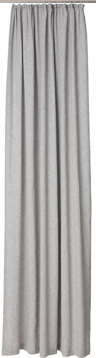 MARCEL Rideau prêt à poser opaque 430274322020 Couleur Gris foncé Dimensions L: 150.0 cm x H: 270.0 cm Photo no. 1