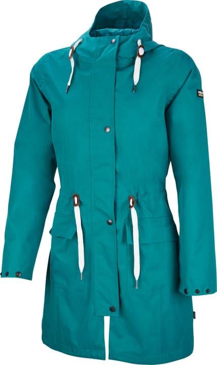 Taslina Cappotto impermeabile da donna Rukka 498425903465 Colore petrolio Taglie 34 N. figura 1