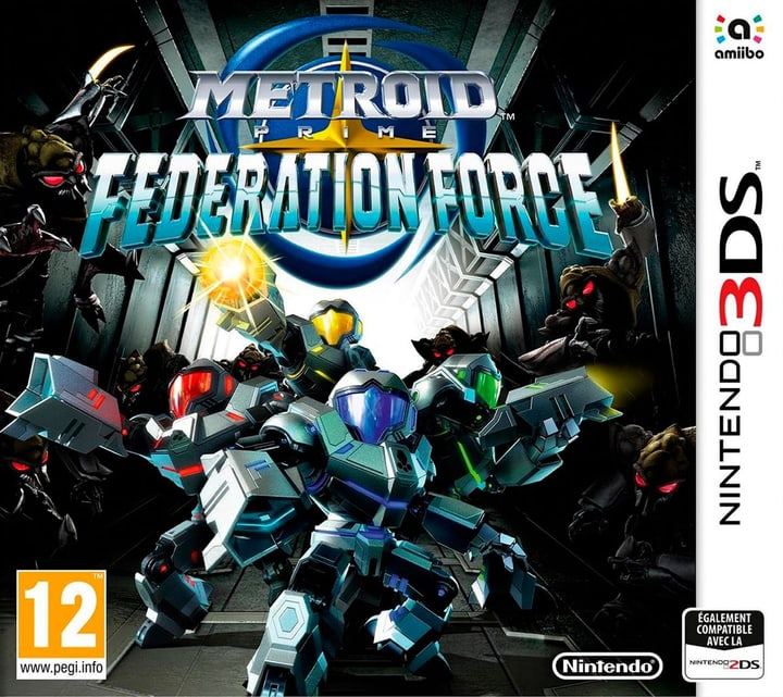 3DS - Metroid Prime: FederatForce Physique (Box) 785300121236 Photo no. 1