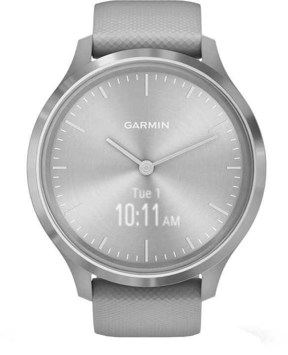 Vivomove gris clair / argent Smartwatch Garmin 785300149711 Photo no. 1