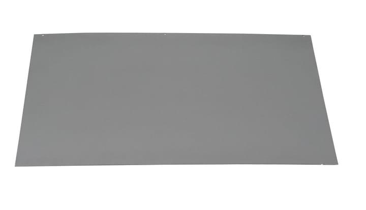 Bodenplatte Stahl rechteckig grau 678014000000 Bild Nr. 1