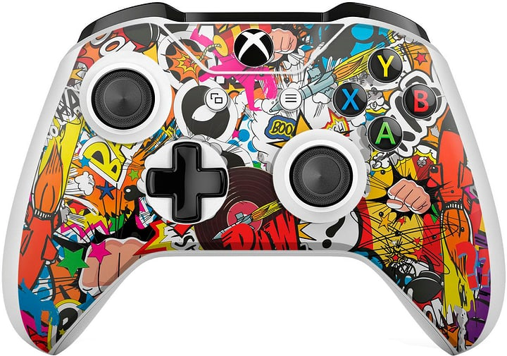 EpicSkin Stickerbomb Color Controller Xbox One S 785300144534 Photo no. 1