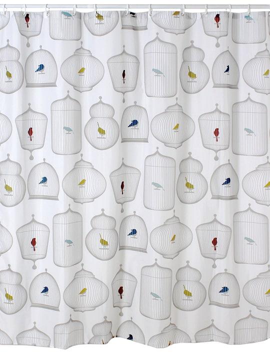 LUCIO Tenda da doccia 453141953410 Colore Bianco Dimensioni L: 180.0 cm x A: 180.0 cm N. figura 1