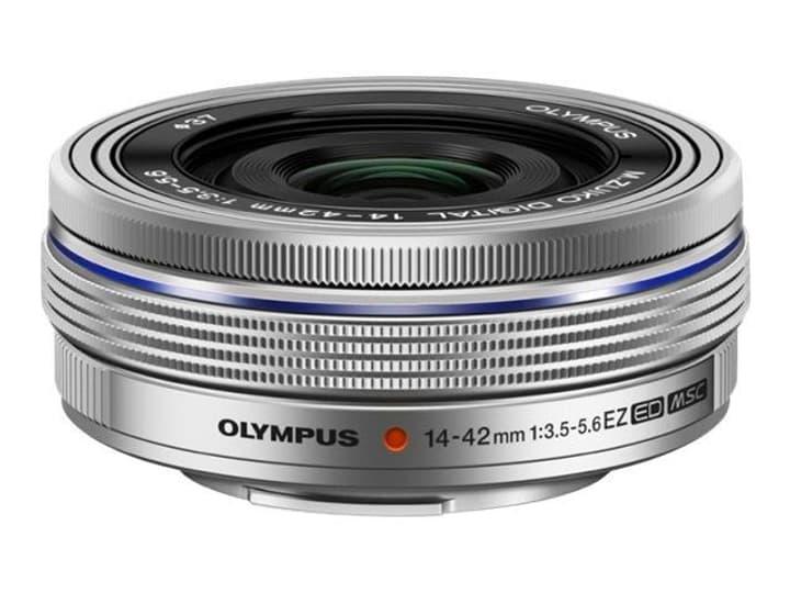 m.Zuiko 14-42mm 3.5-5.6 EZ silber Objektiv Olympus 785300125777 Bild Nr. 1
