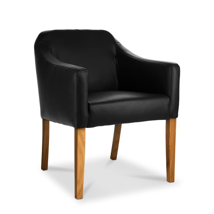 LUCAS Chaise Sauvage 366009036605 Dimensions L: 62.0 cm x P: 63.0 cm x H: 79.0 cm Couleur Noir Photo no. 1