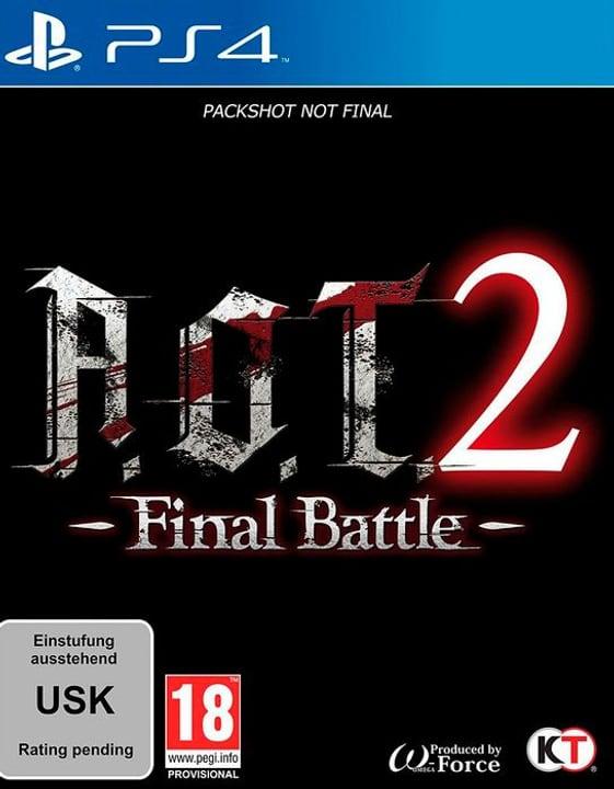 PS4 - A.O.T. 2: Final Battle D Box 785300145056 Photo no. 1