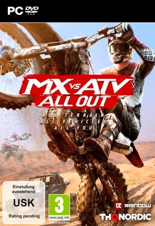 PC - MX vs. ATV All Out D Fisico (Box) 785300132003 N. figura 1