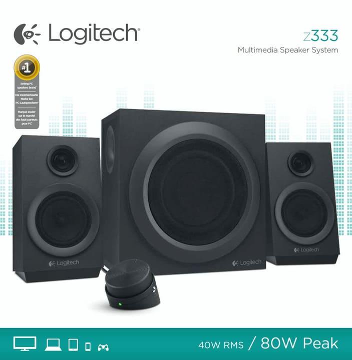 Z333 2.1 Speaker System 80 watt Logitech 797922400000 N. figura 1