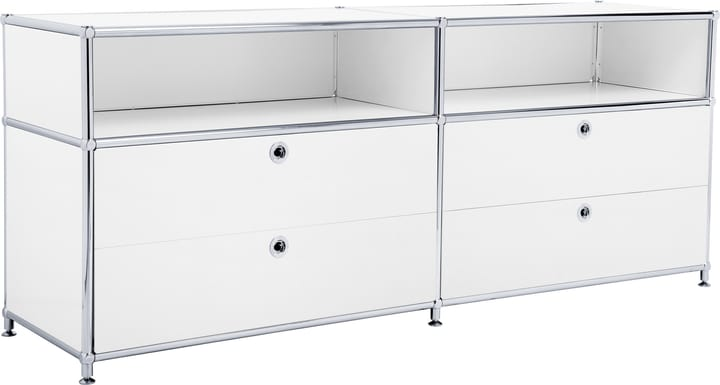 FLEXCUBE Buffet bas 401813920110 Dimensions L: 152.0 cm x P: 40.0 cm x H: 62.5 cm Couleur Blanc Photo no. 1