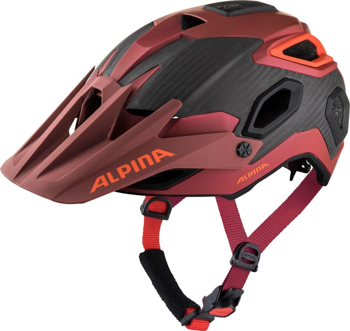 ALPINA ROOTAGE Casco da bicicletta Alpina 465045752142 Taglie 52-57 Colore azzurro N. figura 1