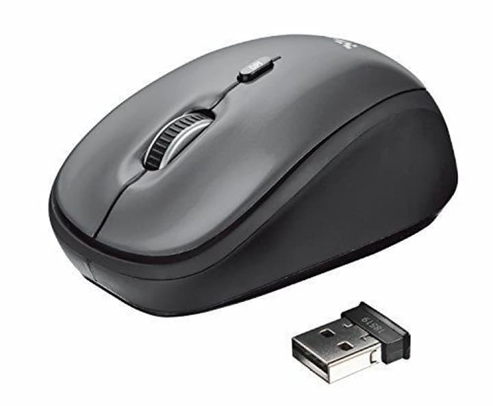 Yvi Wireless souris noir Souris wireless Trust 798216900000 Photo no. 1