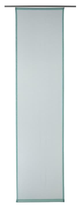 GASPAR Flächenvorhang 430569030441 Farbe Hellblau Grösse B: 60.0 cm x H: 245.0 cm Bild Nr. 1