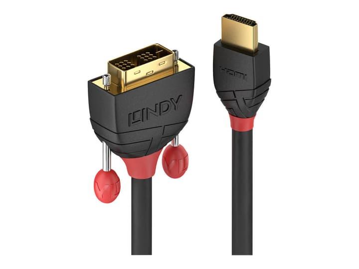 HDMI - DVI Kabel, Black Line 3m Kabel LINDY 785300141540 Bild Nr. 1
