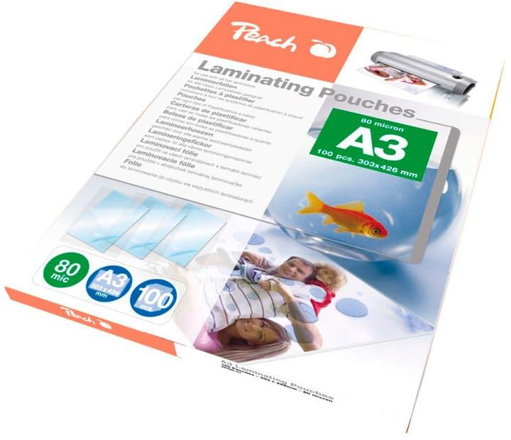Buste per plastificazione A3 80mic PP580-01, 100 pezzo buste per plastificazione Peach 785300126753 N. figura 1
