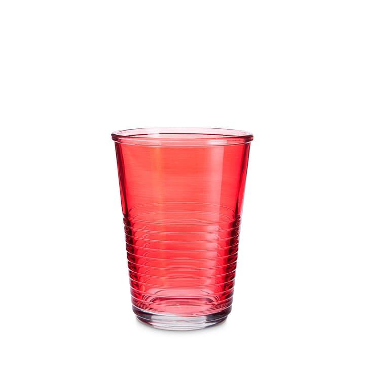 MACAO Verre à eau 393013400000 Dimensions L: 8.0 cm x P: 8.0 cm x H: 10.5 cm Couleur Rouge Photo no. 1