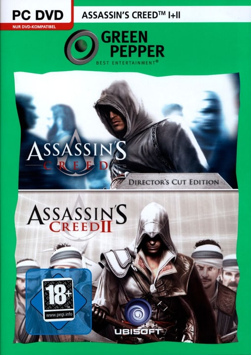 PC - Green Pepper: Assassin's Creed 1+2 Physique (Box) 785300121609 Photo no. 1