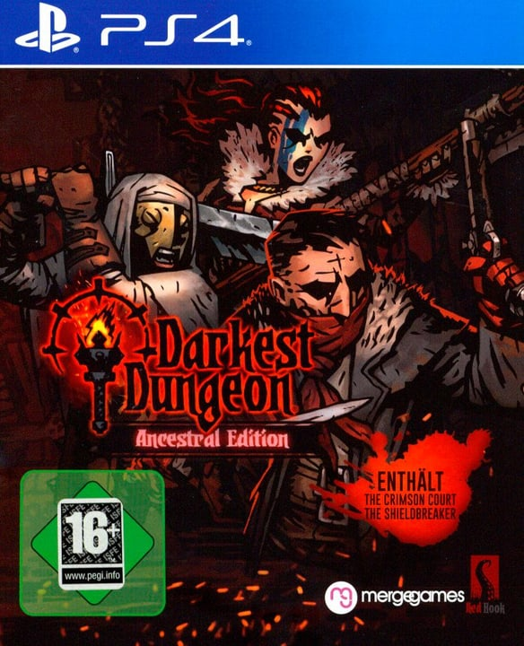 PS4 - Darkest Dungeon: Crimson Edition (D) Fisico (Box) 785300132165 N. figura 1