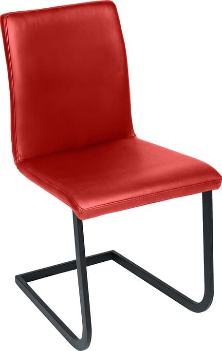 SANTORO Chaise en porte-à-faux 402355700030 Dimensions L: 43.0 cm x P: 55.0 cm x H: 86.0 cm Couleur Rouge Photo no. 1
