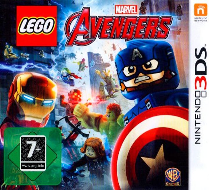 LEGO Marvel Avengers (3DS) (D) Physisch (Box) 785300131051 Bild Nr. 1
